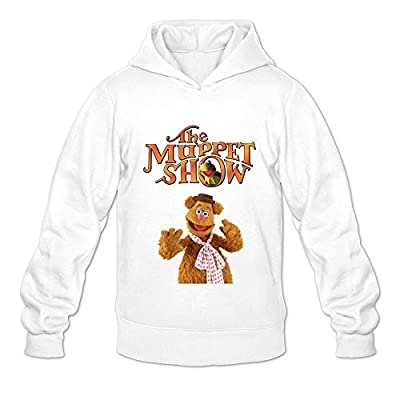 Men's The Muppet Show Fashion Hoodies Sweatshirt Size US White