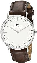 Comprar Daniel Wellington 0209DW - Reloj analógico, para hombre, color blanco y gris