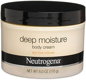 Neutrogena Crème corporelle - Hydratation en profondeur - Aux beurres de karité, cacao et mangue - 175 ml