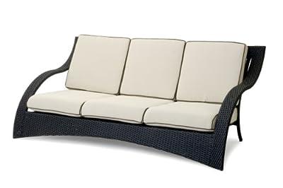 Garvida 3er Sofa Venezia - Farbe: Schwarz von Garvida auf Gartenmöbel von Du und Dein Garten