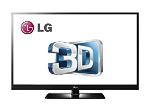 LG 60PZ550 60-Inch 1080p 600 Hz Active 3D Plasma HDTV with Internet Applications