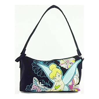 Tinkerbell Black Mini Shoulder Bag (UL12A039)