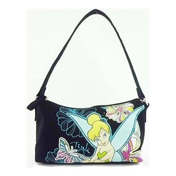 Tinkerbell Black Mini Shoulder Bag (UL12A039)