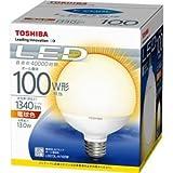 東芝(TOSHIBA)  LED電球 ボール電球形 1340lm(電球色相当)TOSHIBA E-CORE(イー・コア) LDG13L-H/100W LDG13L-H/100W