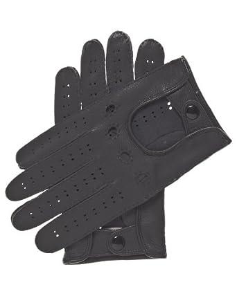 Fratelli Orsini Men's Handsewn Deerskin Driving Gloves Size 7 Color Black