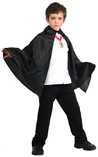 Rubies 30-Inch Black Fabric Cape