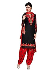 Balle balle Black colored Dress material