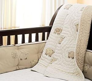 Amazon.com: Pottery Barn Kids Sweet Lambie Nursery Bedding: Baby