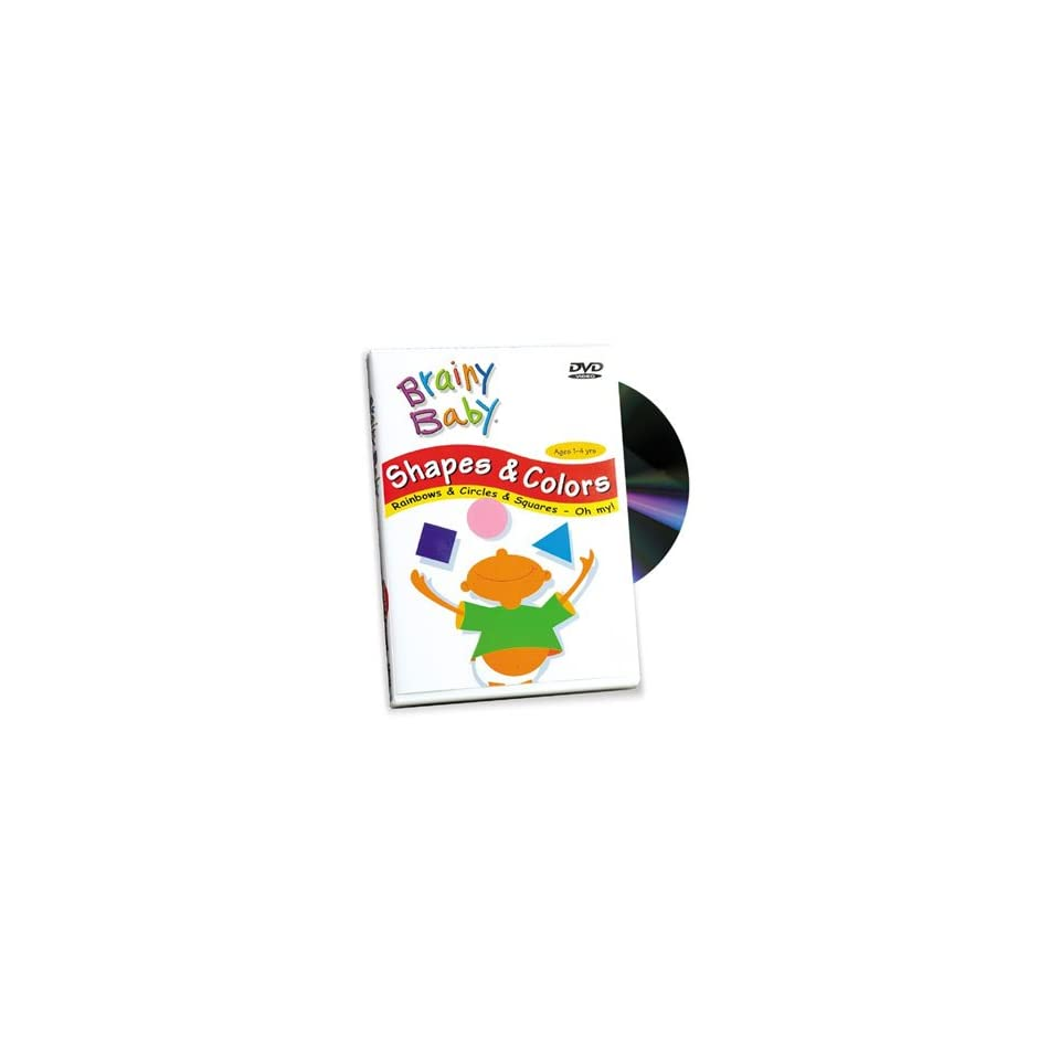 Baby einstein animal discovery cards toys amp games on popscreen - Brainy Baby Shapes Colors Dvd