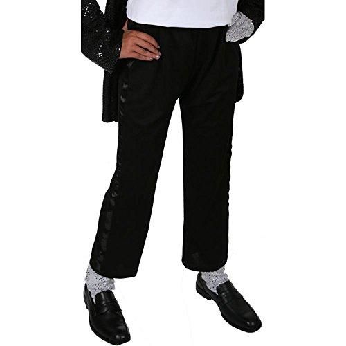 Michael Jackson Billie Jean Black Tuxedo Pants