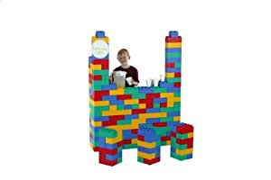 Jumbo Blocks Jumbo Set Plastic Interlocking Building Blocks