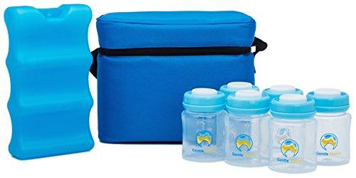 Premium Breastmilk Storage Cooler Set By Gentle Shores (Milk Storage Ice Packs compare prices)