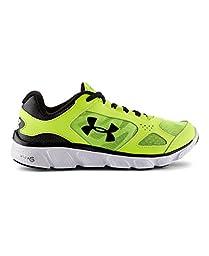 Under Armour Big Boys\' Grade School Micro G® Assert V Running Shoes 7 High-Vis Yellow