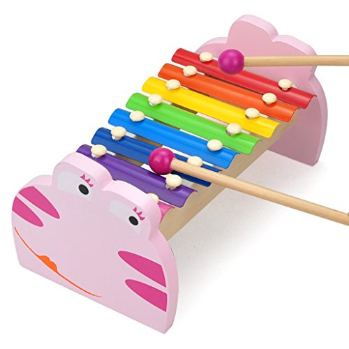 TOPBRIGHT Frog Xylophone Color Pink