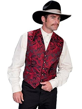 Victorian Men's Vests and Waistcoats Dragon Pattern Vest $65.00 AT vintagedancer.com