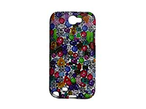 Colorcase Soft Silicon Back Cover Case for Samsung Galaxy Note 2 N7100