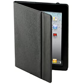 Splash Raindrop Leather Case Cover for The New iPad