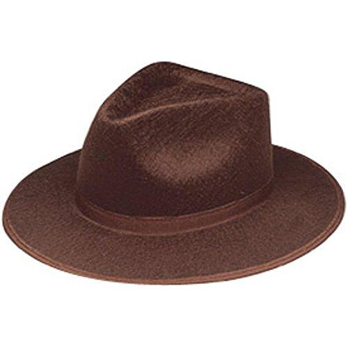 Adult Brown Indiana Jones Costume Hat