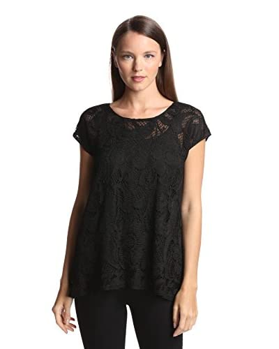 Anna Sui Women's Leaf Lace Top