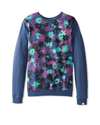 PUMA Men's Flower Print Sweatshirt