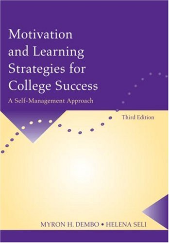 Motivation and Learning Strategies for College Success: A...