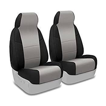 MAZDA MIATA 2001-2005 CHARCOAL VINYL CUSTOM MADE FIT FRONT SEAT COVERS