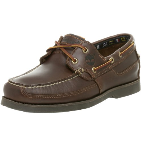 Timberland Men's Kiawah Bay 2 Boat Shoe,Brown/Brown,13 M