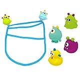 Knorrtoys 37027 - Monster ESCABBO cifras bañera Squirt feliz con el poder
