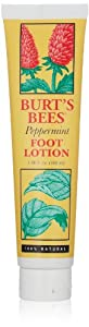 Burt's Bees Peppermint Foot Lotion, 3.38 Fluid Ounces