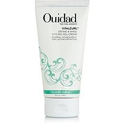 Ouidad Define & Shine Curl Styling Gel-Cream 6 oz by Ouidad