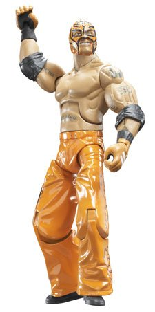 WWE Wrestling Build N' Brawl Series 2 Mini 4 Inch Action Figure Rey Mysterio [Ring Base Piece] (Wwe Build N Brawl Ring compare prices)