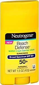 Neutrogena Beach Defense Sunscreen, SPF50+, 1.5 oz