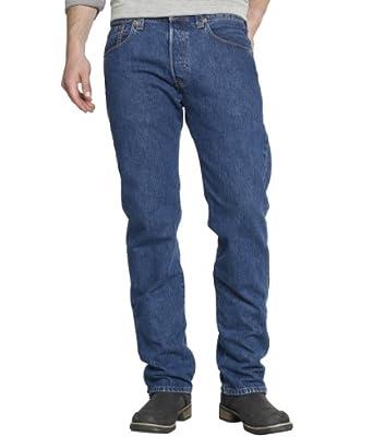 Levi's® Herren Jeans 501 Straight Leg, 005010114, Gr. 29/30, Blau (Stonewash)