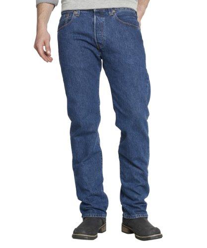 Levi's 501, Jeans Uomo, Blu (Stonewash), 32W/32L