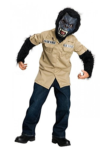 Rubies Boys Gorilla Guide Costume Safari Outfit with Mask