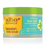 Alba Botanica Revitalizing Sea Salt Hawaiian Body Scrub, 14.5 Ounce Tub