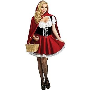 Red Riding Hood Plus Size Costume UK16-20