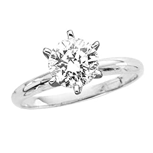 4.34 ct. I - VS1 GIA Certified Round Brilliant Cut Diamond Solitaire Ring (White or Yellow Gold) by Katarina