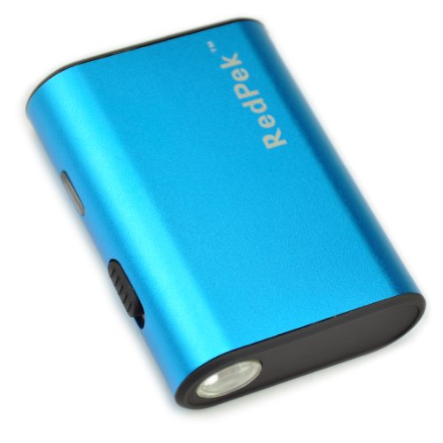 Topea Blue Mini Full 5200Mah 5200 Mah External Battery Pack Portable Power Bank Charger + Led Flash Light - Blue
