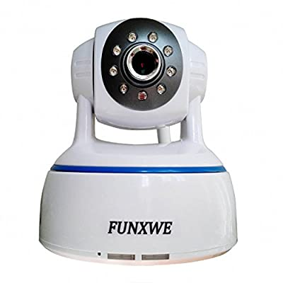 Funxwe WiFi 720P HD IP Camera Wireless Baby Monitor Two-way Audio PTZ Pan/Tilt P2P CCTV Home Security Surveillance Dome Motion Detection Night Vision from Funxwe Technology Co,. Ltd.