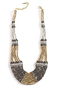 World Finds Fair Trade Athena Bib Necklace