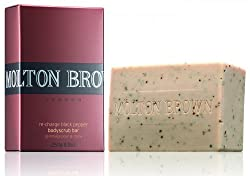 Molton Brown Re-Charge Black Pepper Bodyscrub Bar, 8.8 Ounce