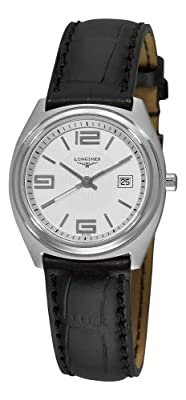 Longines Women's L35094762 LungoMare Silver Guilloche Center Dial Watch