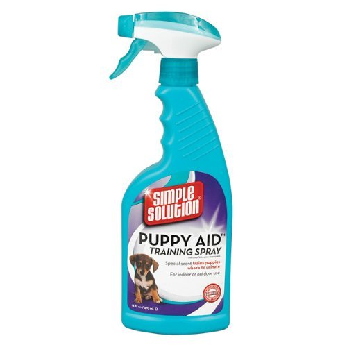 Simple Solution Puppy Aid Training Spray - 16 oz spray (Pet Potty Training Spray compare prices)
