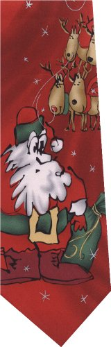 New Jerry Garcia Necktie 100% Silk Collection 54 Merry Christmas (Jerry Garcia Christmas Ties compare prices)