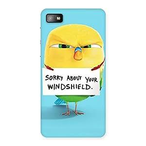 Cute Sorry Back Case Cover for Blackberry Z10