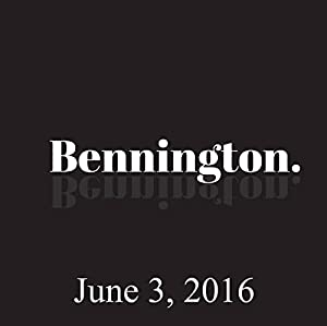 Bennington, Weird Al, June 3, 2016 Radio/TV Program