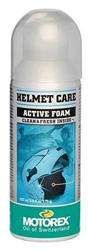 MOTOREX - Mousse nettoyante pour casque Helmet Care - 200 ml