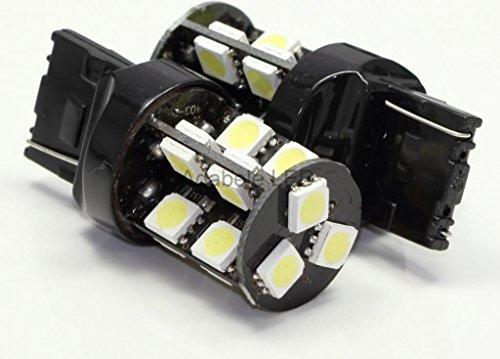 White 19 Led Backup Daytime Running Reverse Light Drl Bulbs 3157 T20 7440 L117 @ Ba15S 1073 1093 1129 1141 1159 1259 1464