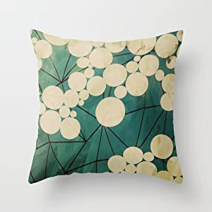 Popular Throw Pillow/Travel Pillow-Cotton Linen Square Decorative Throw Pillow Case Cushion ...
